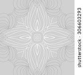 circular   pattern of delicate... | Shutterstock .eps vector #306603293