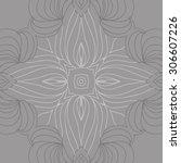 circular   pattern of delicate... | Shutterstock . vector #306607226