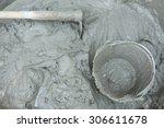 Plaster Cement Concrete Poured...