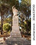 statue of the prophet elijah on ...
