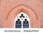Pointed Window In The Facade O...