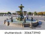 Paris. Detail Of The Fountain...