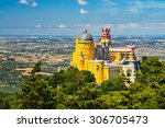 aerial view of the pena... | Shutterstock . vector #306705473