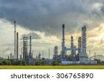 oil refinery | Shutterstock . vector #306765890