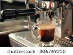 image of coffee machine.  | Shutterstock . vector #306769250
