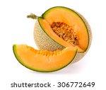 Cantaloupe Melon Slices...