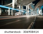 city road viaduct streetscape... | Shutterstock . vector #306908414