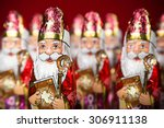 Close Up Of Sinterklaas. Saint...