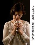 heartbroken woman | Shutterstock . vector #30692377