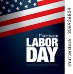 labor day banner | Shutterstock .eps vector #306926834