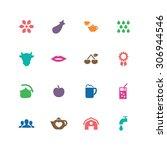 drinks icons universal set for... | Shutterstock . vector #306944546