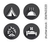 Hot Food  Sleep  Camping Tent...