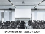business meeting seminar room...   Shutterstock . vector #306971204