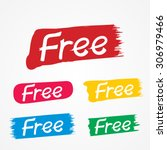 vector of free tag  free sign ...