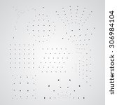 vector file. a set of points... | Shutterstock .eps vector #306984104
