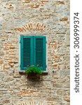 Italian Window With Closed...
