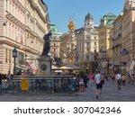 vienna  austria   16 jul 2014 ... | Shutterstock . vector #307042346
