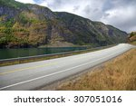 picturesque landscape and... | Shutterstock . vector #307051016