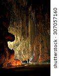 Wondelful Limestone Cave Tarn...