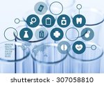 laboratory. | Shutterstock . vector #307058810