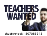 Постер, плакат: Teachers Wanted