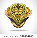 abstract  design element. | Shutterstock .eps vector #307098740
