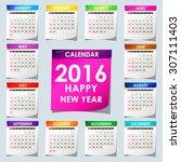 Simple 2016 Calendar   2016...