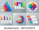 infographic design template can ... | Shutterstock .eps vector #307119374
