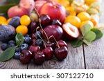 Fresh Stone Fruits Cherries...