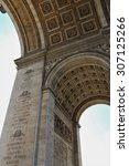 triumphal arch of the star ... | Shutterstock . vector #307125266