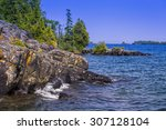 Lake Superior Shoreline  Isle...