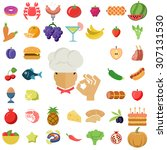 food icon | Shutterstock .eps vector #307131530
