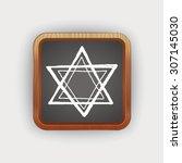 doodle star | Shutterstock .eps vector #307145030