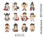 Set Of Warrior Costume...