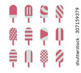 a vector graphic pattern for... | Shutterstock .eps vector #307159379