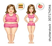 Fat And Slim Girl  Weight Loss...