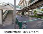 Small photo of BANGKOK - August 18 : Bangkok after a bomb exploded inside the Erawan shrine complex at the Ratchaprasong intersection, killing 19 and injuring 123 on August 18, 2015 in Bangkok, Thailand.