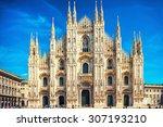 Daytime View Of Famous Milan...