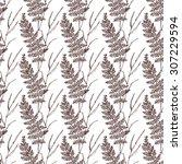 seamless  hand draw pattern... | Shutterstock . vector #307229594