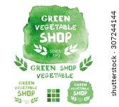 Watercolor Green Logo.textured...