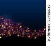 abstract dark background.... | Shutterstock . vector #307300160