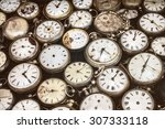 retro styled image of old... | Shutterstock . vector #307333118