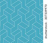 Seamless Elegant Pattern. Blue...