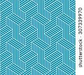Seamless Elegant Pattern. Blue...