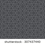 intersecting curved elegant... | Shutterstock .eps vector #307437440
