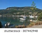 greece  the island of ithaki ... | Shutterstock . vector #307442948