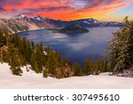 Crater Lake Image Taken At...