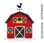 farm fresh design  vector... | Shutterstock .eps vector #307496420