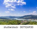 visegrad hungary  danube river | Shutterstock . vector #307526930