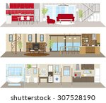 living space | Shutterstock .eps vector #307528190